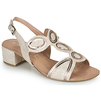 Shoes Women Sandals Marco Tozzi ANTHINEA Pink