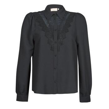 material Women Shirts Moony Mood PABBECOURS Black