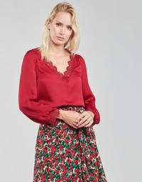 material Women Blouses Moony Mood PABITAIN Red