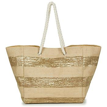 Bags Women Shopper bags Betty London  Beige / Gold