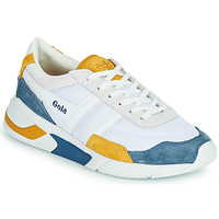 Shoes Women Low top trainers Gola GOLA ECLIPSE White / Blue / Yellow