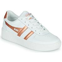 Shoes Women Low top trainers Gola GOLA GRANDSLAM White / Bronze