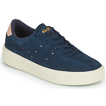Shoes Women Low top trainers Gola SUPER COURT SUEDE Marine / Pink