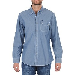 material Men long-sleeved shirts Lee Cooper Greyven Blue