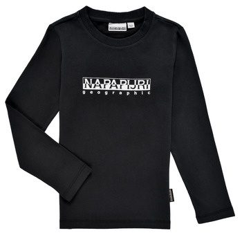 material Boy Long sleeved shirts Napapijri S-BOX LS Black