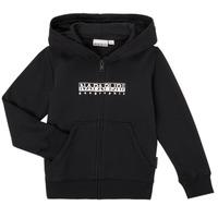 material Boy sweaters Napapijri B-BOX FZH Black