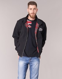 material Men Blouses Lonsdale HARRINGTON Black