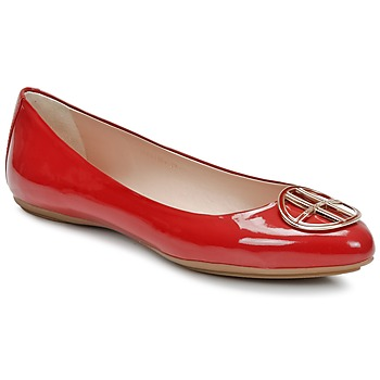 Shoes Women Ballerinas Hugo Boss Black LISETTE Red