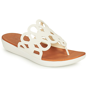 Shoes Women Flip flops FitFlop ELODIE White