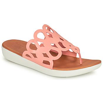 Shoes Women Flip flops FitFlop ELODIE Pink