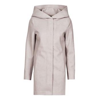 material Women coats Vero Moda VMDAFNEDORA Beige