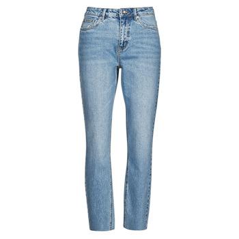 material Women slim jeans Vero Moda VMBRENDA Blue / Clear