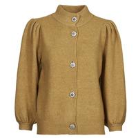 material Women Jackets / Cardigans Vero Moda VMKARNA Camel