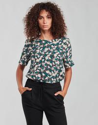 material Women Blouses Vero Moda VMRILLO Green