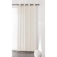 Home Sheer curtains Linder KAOLIN White / Broken