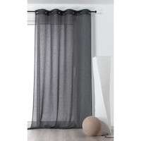 Home Sheer curtains Linder MICAO Grey / Dark