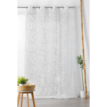 Home Sheer curtains Linder BAMBOO White