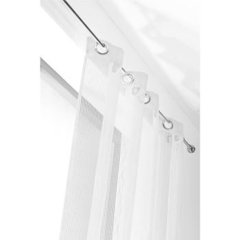 Home Sheer curtains Linder FILET White