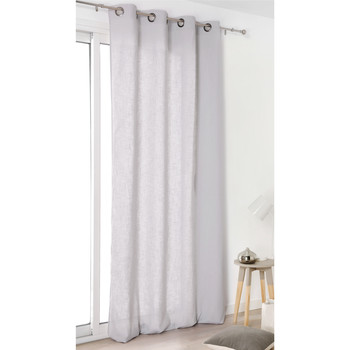 Home Curtains & blinds Linder TOILE ASP.LIN Grey / Clear