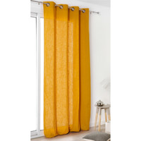 Home Curtains & blinds Linder TOILE ASP.LIN Yellow / Orange