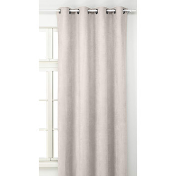 Home Curtains & blinds Linder SUEDINE LOURDE Beige / Clear
