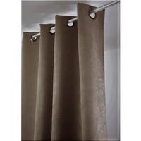 Home Curtains & blinds Linder SUEDINE LOURDE Beige / Dark