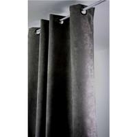 Home Curtains & blinds Linder SUEDINE LOURDE Grey / Dark