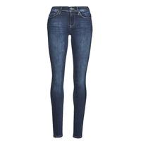 material Women slim jeans Only ONLSHAPE Blue / Dark
