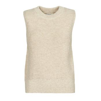 material Women jumpers Only ONLPARIS Beige
