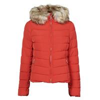 material Women Duffel coats Only ONLNEWELLAN Red