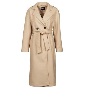 material Women Trench coats Only ONLEMMA Beige