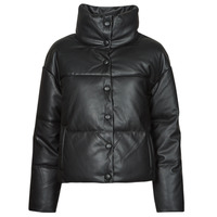 material Women Leather jackets / Imitation leather Only ONLLYDIA Black