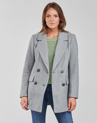 material Women coats Only ONLVICTORIA Grey