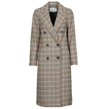 material Women coats Only ONLZOEZUE Brown