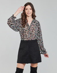 material Women Blouses Only ONLMELINA Black / Multicolour