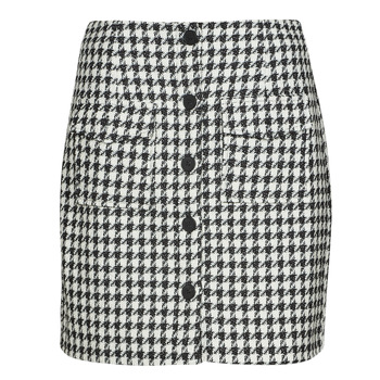 material Women Skirts Moony Mood PABLEIGES Black / White