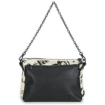 Bags Women Shoulder bags Desigual BOLS_JALEO DURBAN DOUBLE White