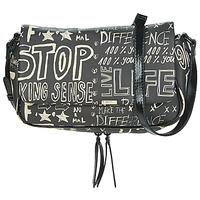 Bags Women Shoulder bags Desigual BOLS_HANSMADE TROMSO Black