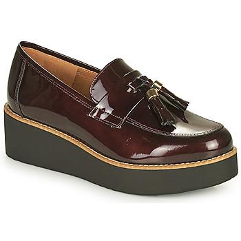 Shoes Women Loafers Fericelli JOLLEGNO Bordeaux