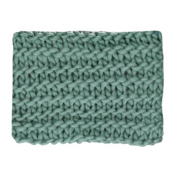 Home Blankets, throws Pomax NITTU Aqua