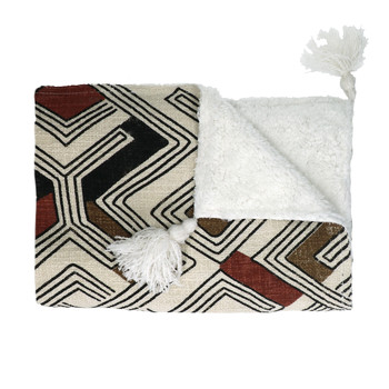 Home Blankets, throws Pomax TOUDOU White