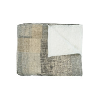 Home Blankets, throws Pomax TOUDOU Grey