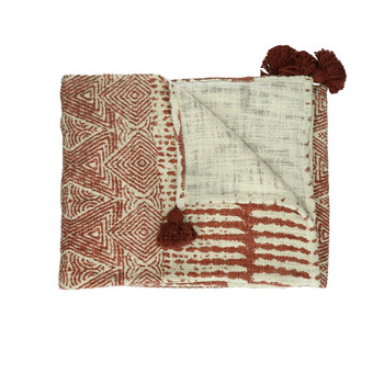 Home Blankets, throws Pomax ETNIC Red