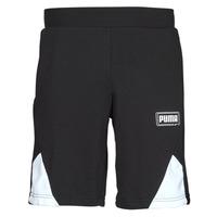 material Men Shorts / Bermudas Puma RBL SHORTS Black / White