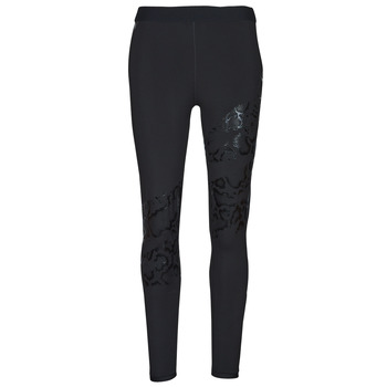material Women leggings Puma UNTAMED PRINT TIGHT Black