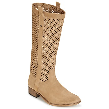 Shoes Women Boots Betty London DIVOUI CAMEL