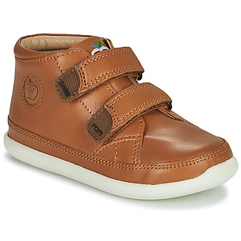 Shoes Children High top trainers Shoo Pom CUPY SCRATCH Brown