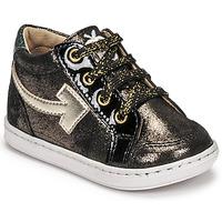 Shoes Girl High top trainers Shoo Pom BOUBA ARROW Black