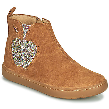 Shoes Girl Mid boots Shoo Pom PLAY APPLE Brown
