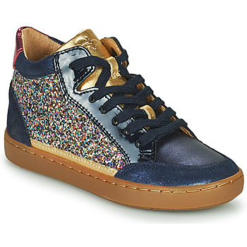 Shoes Girl High top trainers Shoo Pom PLAY CONNECT Blue